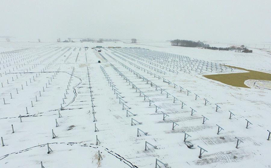 Solar Energy Array Foundations