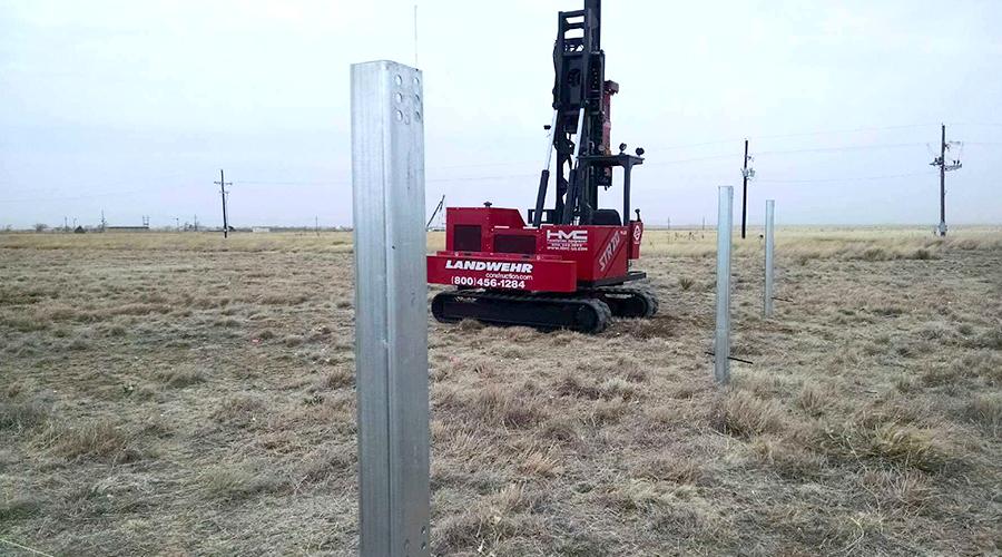 Solar Foundations Renewable Energy Installation