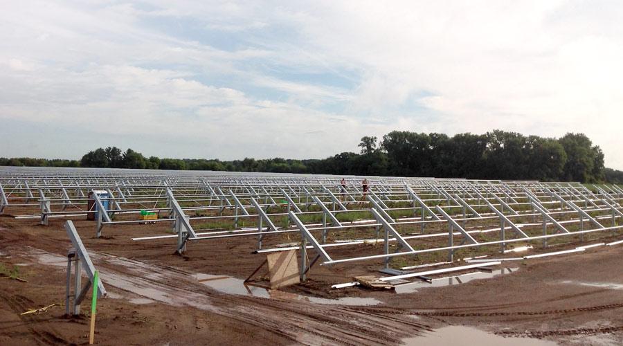 Landwehr Construction - solar panel construction