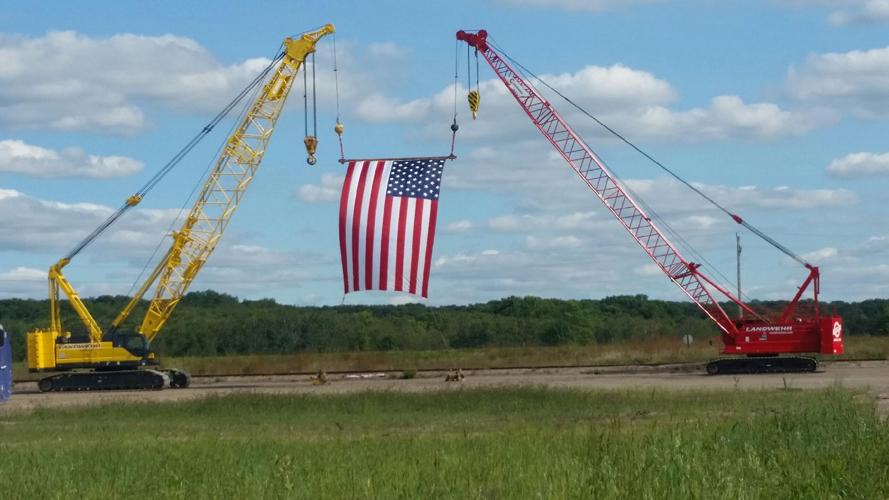 Large Crane at Landwehr Construction