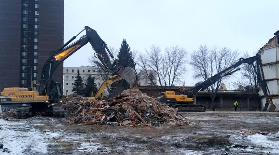 Landwehr Building Demolition